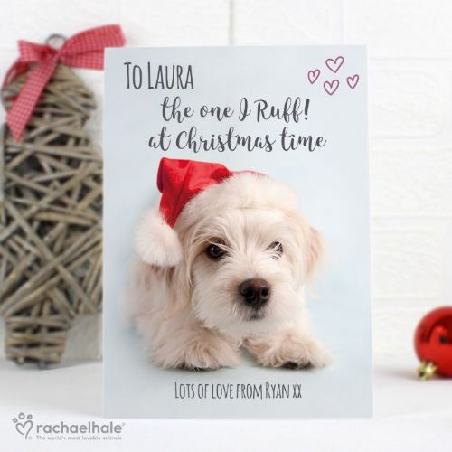 Rachael Hale Terrier Christmas Card